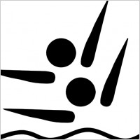 olympic_sports_synchronized_swimming_pictogram_clip_art_15978