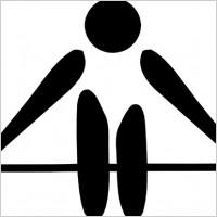 olympic_sports_weightlifting_pictogram_clip_art_15989