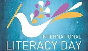International Literacy day.