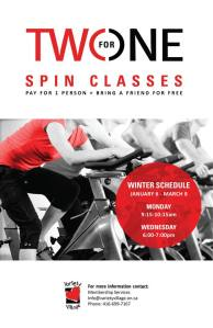 Two for one spin class