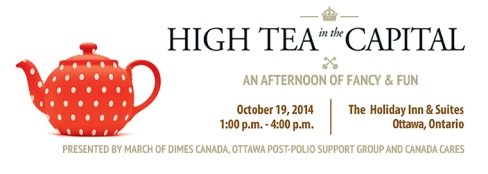 MODC High Tea in the Capital October 19 2014