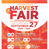 Mount Pleasant Village Harvest Fair September 27 2014