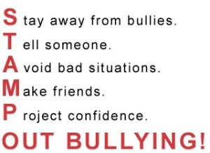 stamp out bullying