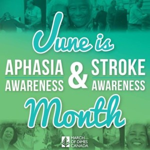 June is alphasia month