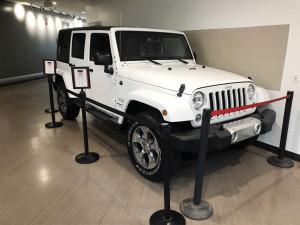 Jeep in VV raffel